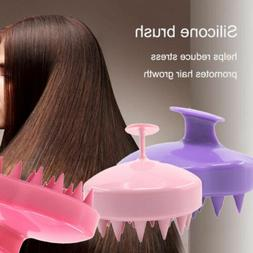 New Silicone Shampoo Scalp Shower Body Washing Hair Massage