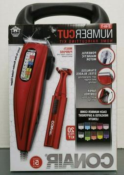 Conair Number Cut Haircutting Kit Clipper 20pc w FREE BONUS