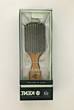 "Kent OG2 Beech Wood 7 1/2"" Rectangular Beard or Hairbrush Pu"