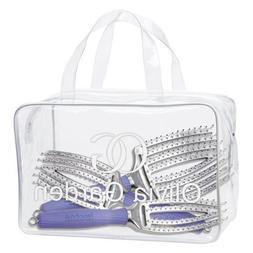 Olivia Garden FB-DL01 3pcs Fingerbrush Collection Bag Set by