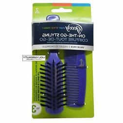 Goody On-The-Go Styling, Hair Brush and Comb Set - Pick your