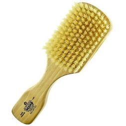 Kent OS11 Dual Timber Rectangular Club Hair Brush. Beautiful