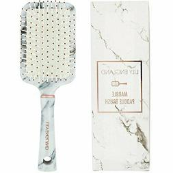 Lily England Paddle Brush Best for Detangling, Straightening