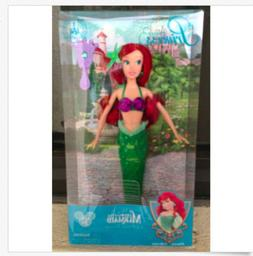 Disney Park Ariel Little Mermaid 11.5 inch Doll NEW 2013 Rel
