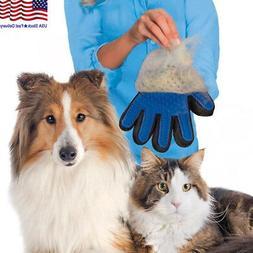 pet dog cat gentle deshedding brush grooming