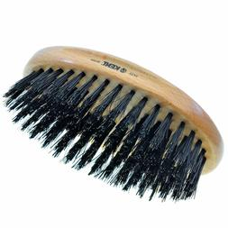 Kent PF22 Men Oval Beard and 360 Wave Hair Brush 100% Boar B