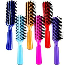 plastic colorful handle nylon bristles