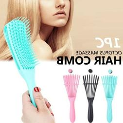 Portable Detangler Hair Brush Anti-Static Scalp Comb Salon H