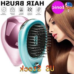 Portable Electric Hairbrush Takeout Ionic Mini Small Hair Br
