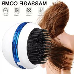 Portable Electric Ionic Hairbrush Mini Ion Hair Brush Head H