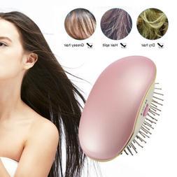 Portable Electric Negative Ion Hairbrush Takeout Mini Hair B