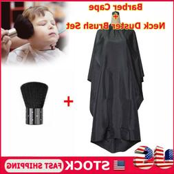 Pro Salon Hair Cutting Nylon Cape Barber Hairdressing Gown N