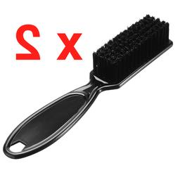 Professional Barber Fade Taper Hair Brush Comb Cleaning Blac
