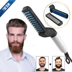 Professional Hair Straightener For Men Comb Curling Electric