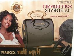 Professional Soft Bonnet Hair Dryer, Case, Hot air vent brus