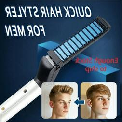 Quick Hair Straightener Men Multifunctional Curling Electric
