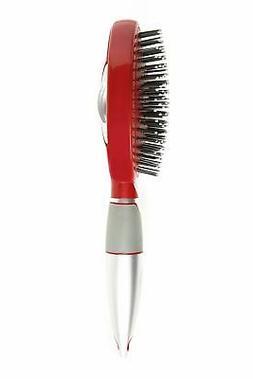 Qwik Clean Self Cleaning Hair Brush - Easy Clean Detangle Br