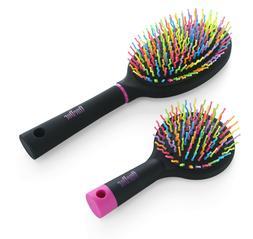 OneDor Rainbow S-Curve Ball tipped Bristles Air Volum Hair B