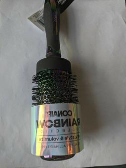 Conair Rainbow Spiral Porcupine Round Hair Brush, Multi-Colo