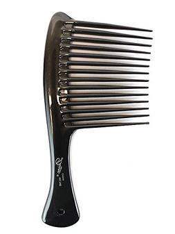 Diane Rake/Rage Comb Bone/Black, 1 Count, Hair detangler, ha