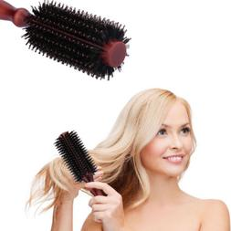 20-Row Round Boar Bristle Hair Brush anti-static Frizz-free