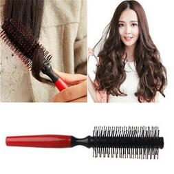 Roller Small Round Unisex's Hair Brush Styling Mini Comb Woo