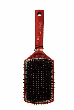 royal satin large square paddle hair brush