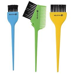 HYOUJIN 3pcs Salon Hair Coloring Dyeing Kit,Large Tint Brush