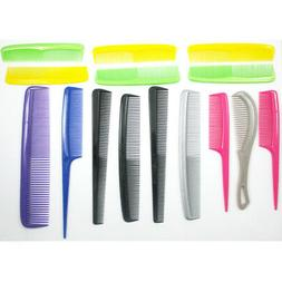 15 Pc Pro Salon Hair Styling Hairdressing Plastic Barbers Br
