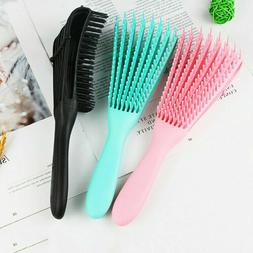The EZ Detangler Hair Brush Anti-Static Scalp Comb Salon Hai
