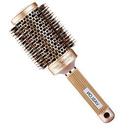 VASLON Professional Salon Round Barrel Hair Brush with Boar