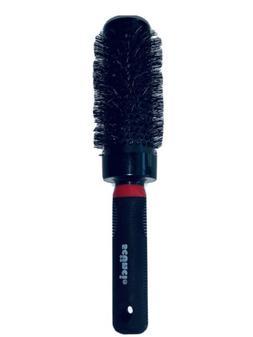 Scunci Round Hair Brush Black Nylon Bristles Smoothing Vente