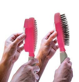 Self Cleaning Hair Brush For Women Men Girl Boys Comb Tool Q