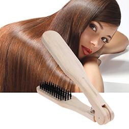 1 Set Combs Hair Brush Wooden Comb Hairdressing Wood Straigh