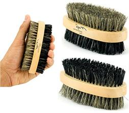 sided palm brush