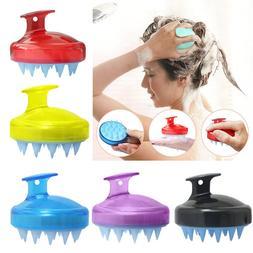 Silicone Shampoo Brush Hair Massage Brush Bath Spa Comb bath
