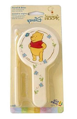 Disney Sincerely Pooh Comb and Brush Set
