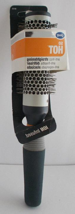 Goody So Hot Ion Infused Hair Brush Anti Frizz Straightening
