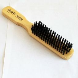 CRT SOFT BOAR BRISTLE MEN WOODEN STYLE FINE HAIR BRUSH POCKE