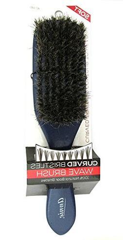 Annie Soft Curved Bristles Wave Brush 2340 Blue