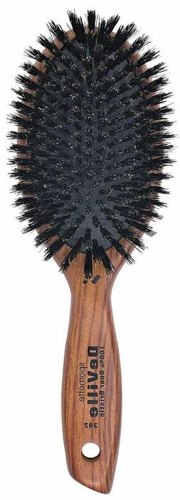 Spornette DeVille Cushion Oval Boar Bristle Hair Brush