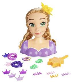 Disney Store Tangled Rapunzel Styling Head 21pcs Brush Golde