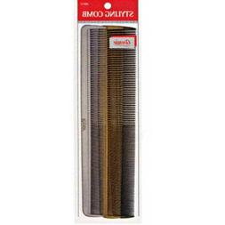 Annie Styling Comb Hair Brush Black Gold Silver 3Pcs Set Com