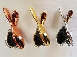 Spornette - SWIZZLE Bristles Detangler Hair Metallic Brush -