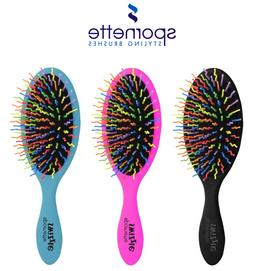 Spornette - SWIZZLE Cushion Bristles Hair Brush Gently Detan