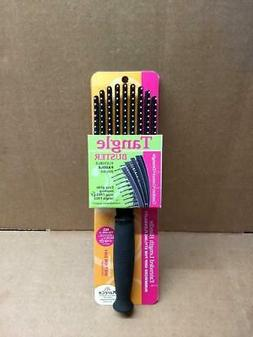 NEW KareCo Tangle Buster Flexible Paddle Brush Detangling Ha