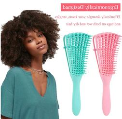 The EZ Detangler Hair Brush Anti-Static Scalp Comb Salon Sty