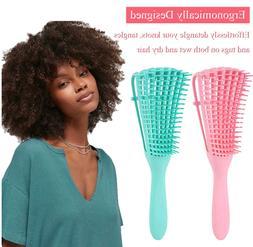 The EZ Detangler Hair Brush Anti-Static Scalp Comb Salon Sty
