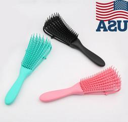 The EZ Detangler Hair Brush Anti-Static Scalp Comb Hair Brus