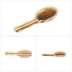 Bass Brushes | The Green Brush | Bamboo Pin + Bamboo Handle